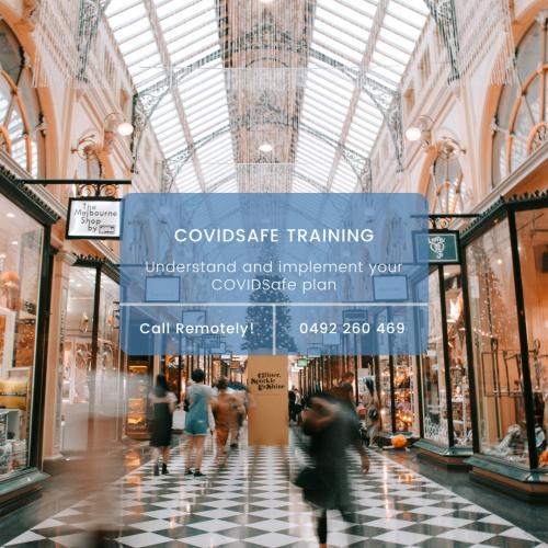 Remotely Covid Safe Training Image