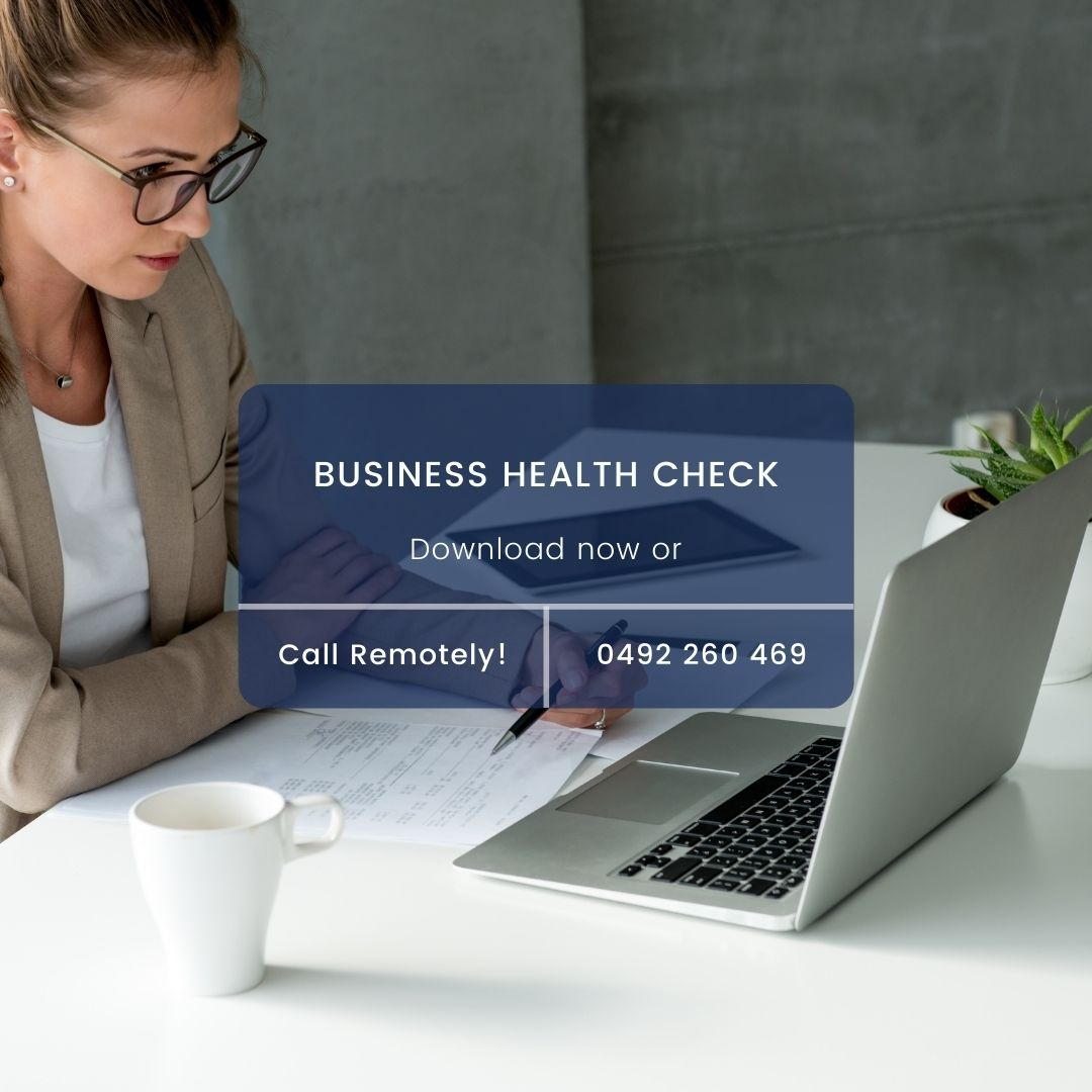 Business Health Check Business Consulting Australia