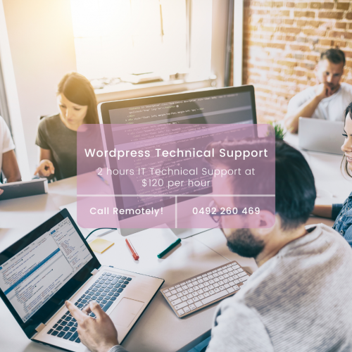Remotely Wordpress Technical Support Image
